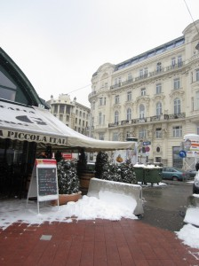 An Italian restaurant at the Naschmarkt farmers' market – you just can't escape pasta (nor should you want to)