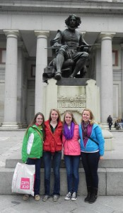 You haven't seen Spain until you have posed with Velazquez at the Prado!