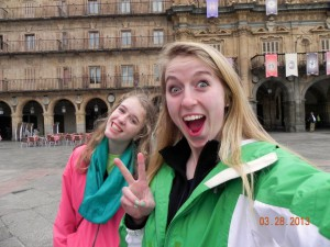 I guess it is safe to say that Jenny & Shannon enjoyed Salamanca.