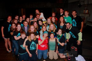 ONE LAST #AOYOLO! VTEAM FOREVER! (Photo Credit: Carissa Freeh)