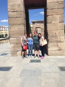 La Puerta de Alcalá in Madrid