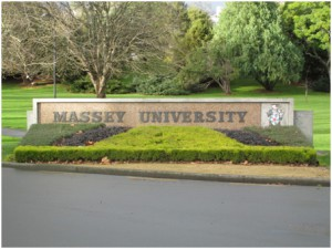 Welcome sign to Massy