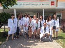 Internship Class at the Hospital Principe de Asturias