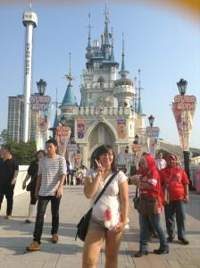 Lotte World: Castel!! (.^_^)