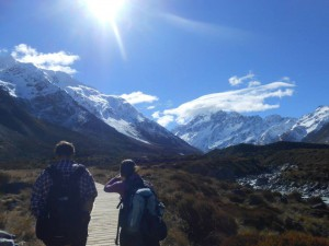 Making Our Way To Mt. Cook