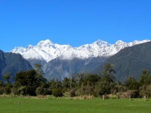 Mt. Tasman And Mt