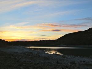 Sunset At Lake Tepako