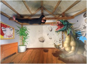 adinosaur, a giant piranha, and now a dragon. sigh. living the dangerous life. lol