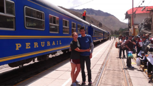 5.7 Train to Aguas Calientes with Maxi