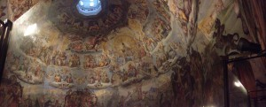 The ceiling at the Duoma; crazy to think that this was painted in the 14th century.
