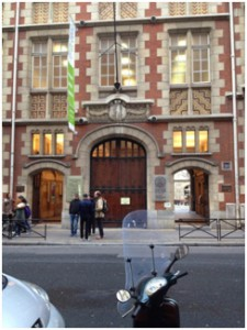 "This is where I will be taking my language class, ""Intitut Catholique"" again just a 5 minute walk from my apartment."