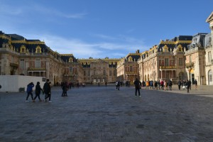 Oh hey, it's Versailles. Because your grounds should be larger than your palace.