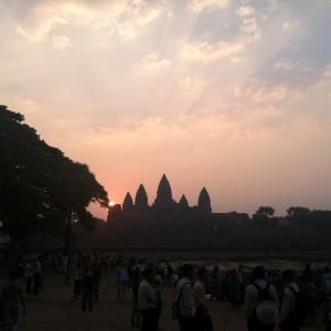 Angkor Wat sunrise photo