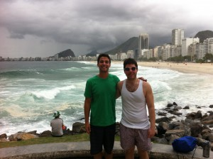 Copacabana Beach with Justin