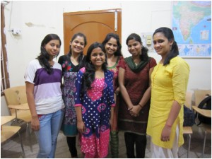 Students from Banaras Hindu University who were some of my informants for my research project