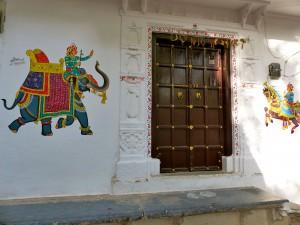 House paintings in Rajasthan