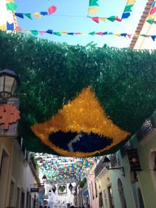 Decorations in Salvador