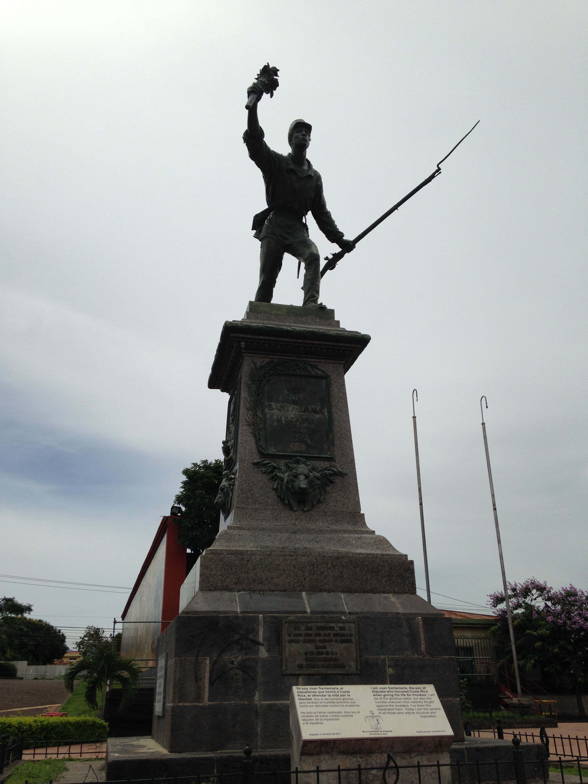 Juan Santamaría and American imperialism – Study Abroad ...