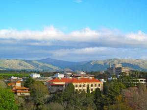 Lookout over Massey University