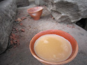 I drank countless of these clay cups of chai at Assi Ghat in Banaras