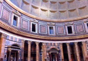 a lovely realization that the Pantheon is a 10 minute walk from my classes…