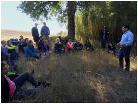 Recap lecture outside the forest
