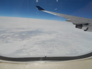 Flying Over Russia