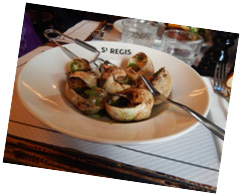 plate of escargot