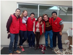 Volunteering with my AWESOME Teletón friends