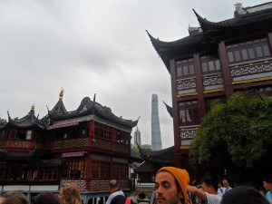 Old and new Shanghai