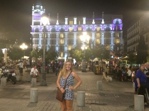 The beautiful Plaza Santa Ana, which is surrounded by quaint little streets full of tapas bars