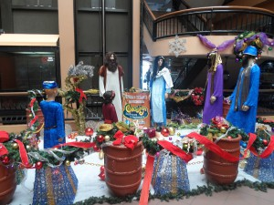 Mannequin Nativity Scene