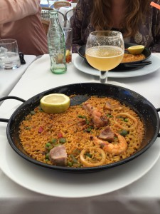 I had to get paella at some point. Pretty good, but I prefer jamón.