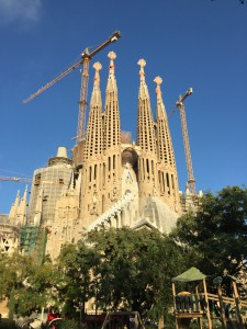 The Sagrada Construcción in all her glory.