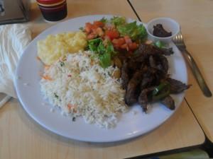 Almuerzo- Casado