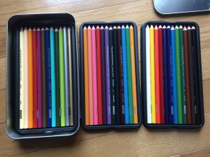 Fully prepared for sketching!