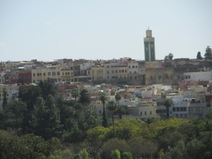 View of Meknes