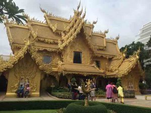 Golden Bath House at the White Temple, Chiang Rai