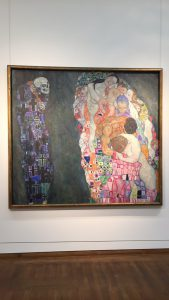 An example of the art I saw in Vienna. Klimt is magical.