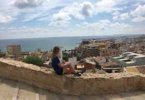A relaxing weekend on the beach in Alicante